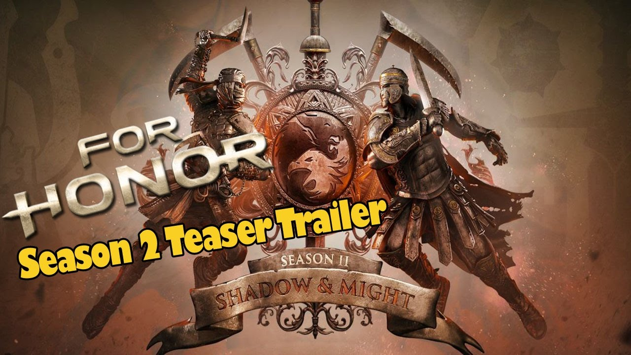 for honor season 2 teaser trailer 2 new heroes coming 16th may youtube. Black Bedroom Furniture Sets. Home Design Ideas