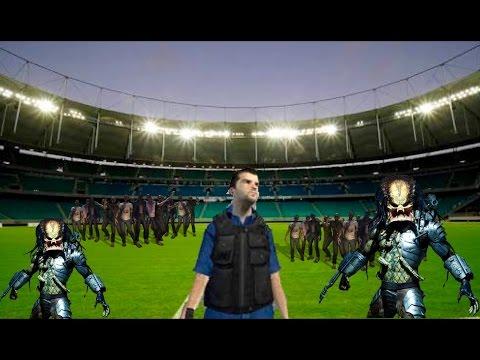 ! MATANDO ALIENS EN UN CAMPO DE FUTBOL! / Occupation VR - L0LStar123