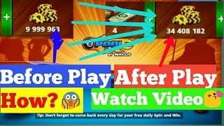 """8 ball pool Rome play""""How to make coins daily in 8 ball pool/by Salaar Bhatti Tricks"""