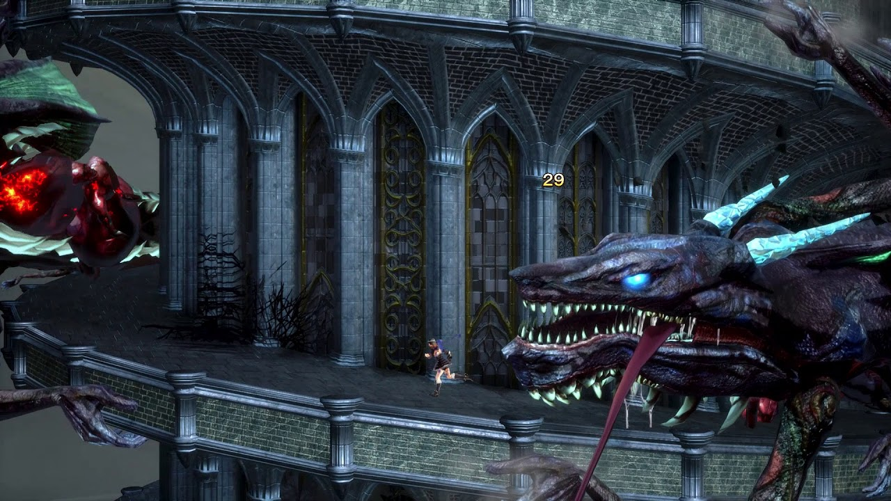 Bloodstained: Ritual of the Night 'The Tower of the Twin Dragons