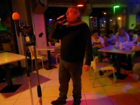 karaoke cascina petra 004 amanda e libera di albano. canta giannimarle.