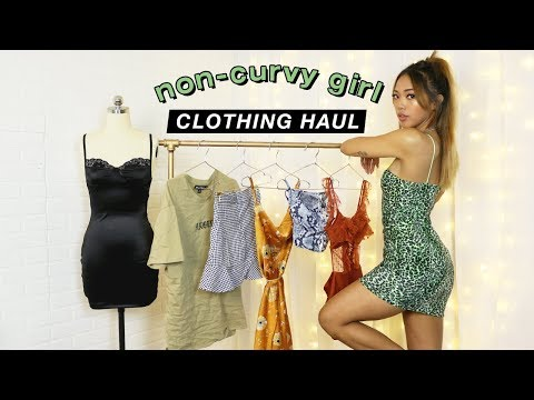 FIRST IMPRESSIONS HAUL: Clothes For Non-Curvy Girls And Small Boobs!   FASHION   Nava Rose