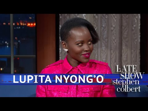 Lupita Nyong'o Has Eyes For Stephen