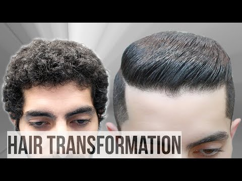 Curly Hair Transformation - Natural Hair Tutorial ★ Best Haircut For men 2018