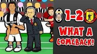 🔥MAN UNITED BEAT JUVENTUS! 1-2!🔥 (Juan Mata Song Champions League 2018 Parody Goals Highlights)