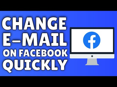 How To Change Your Email Address On Facebook | 2015