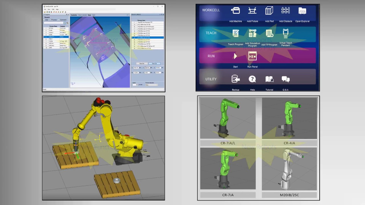 Improve Robot System Productivity with New FANUC ROBOGUIDE V9