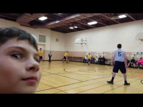 Archangel School vs Chesterton Academy Boys Basketball 2/9/17
