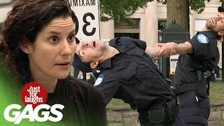 From Police Boots To Ballet Shoes PRANK