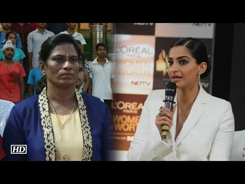 You can't afford to miss Sonam's this reaction on P.T Usha
