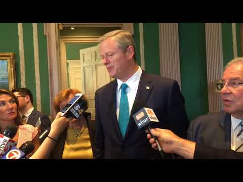 Massachusetts companies 'worried' about trade tensions between US and Canada, Gov. Charlie Baker says