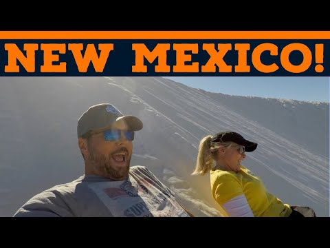 Full Time RV New Mexico! | Carlsbad Caverns | White Sands National Monument | Changing Lanes!