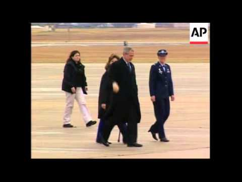 US President Leaves For Crawford, Texas