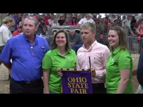 2016 Ohio State Fair Grand Champion Barrow —Ashton Frey