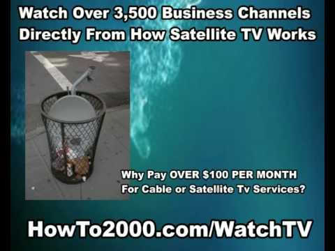 How Satellite TV Works | Watch Over 3500 Business Channels!
