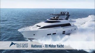 Hatteras Yachts 70 Motor Yacht