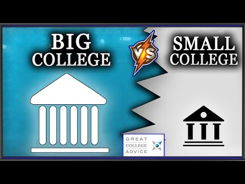 Video: Ohio State University--What Size College Is Best?