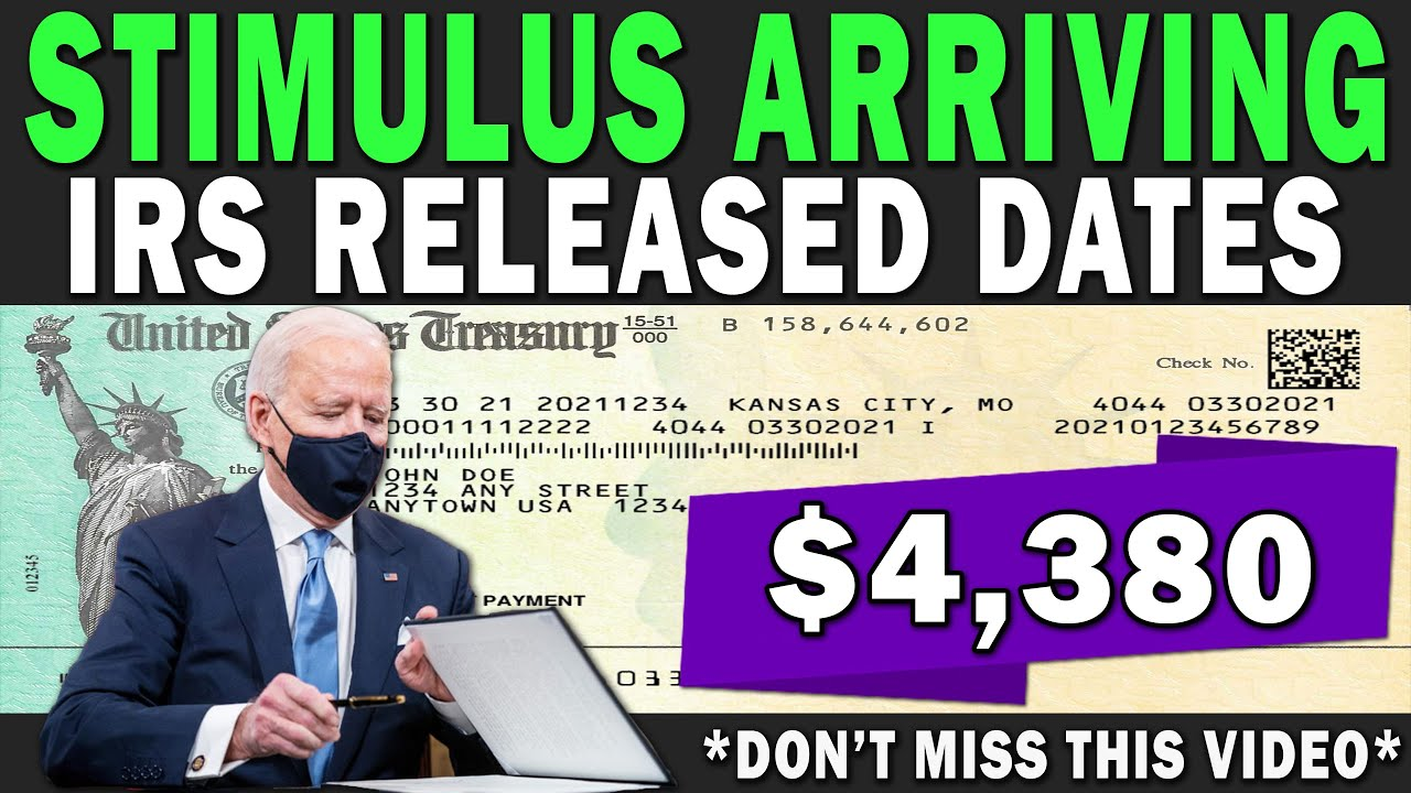 Download WOW! $4,380 IRS Announced Stimulus Payment Dates |  Fourth Stimulus Approved? CTC Payment 2021