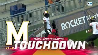 First Half Highlights: Maryland At Penn State   Big Ten Football