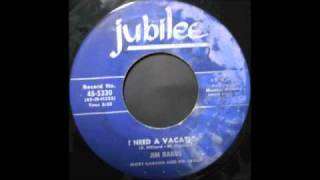 JIM BACKUS - I NEED A VACATION