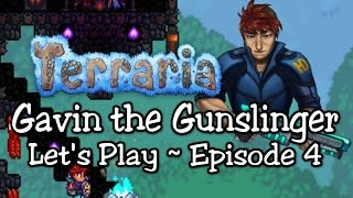 Terraria Gunslinger Playthrough, Part 4: Evil Eye & Dungeon Demons! (1.3 let