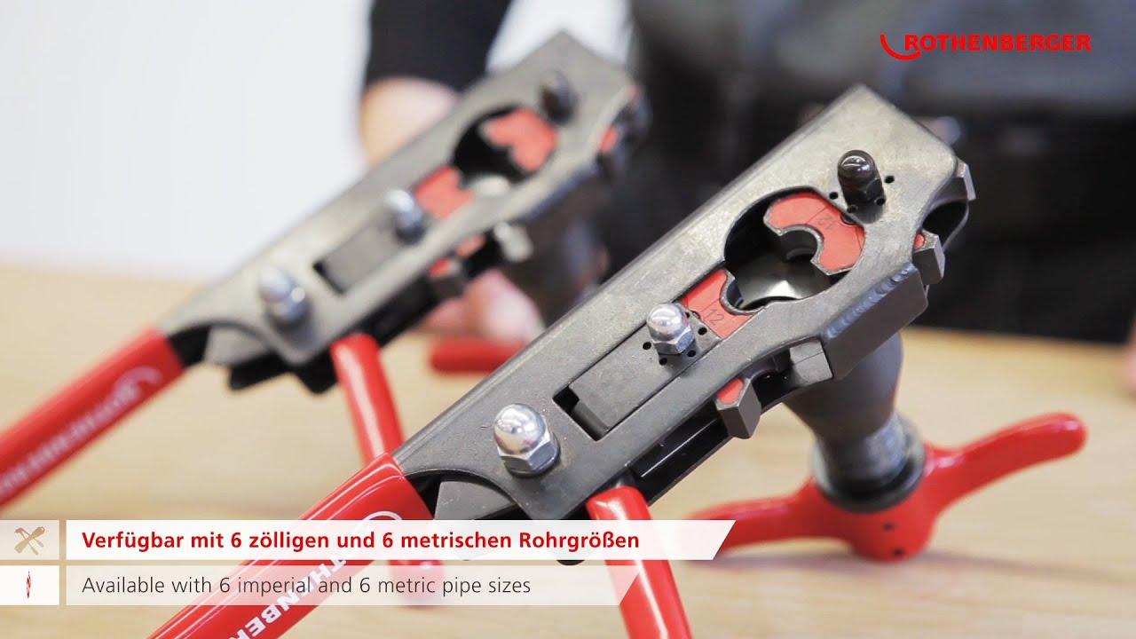 ROFLARE REVOLVER Taumelbordelgerat Reeling Flaring Tool
