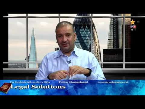 Legal Solutions with Harjap Bhangal 29.05.2020