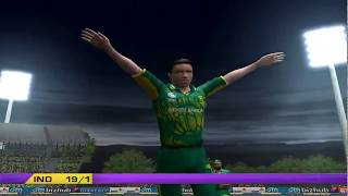 India vs South Africa - 5 Overs Match 1 Part 2 - EA CRICKET 2018 PC Game