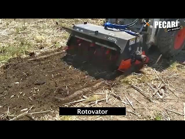 Implemento Rotocultivador | Febrero 2018