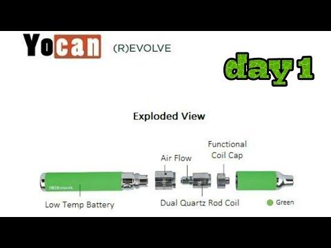 yocan revolve - day 1