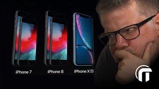 iPhone XR & iPhones à moins de 1000€ | Guide d'achat fin 2018