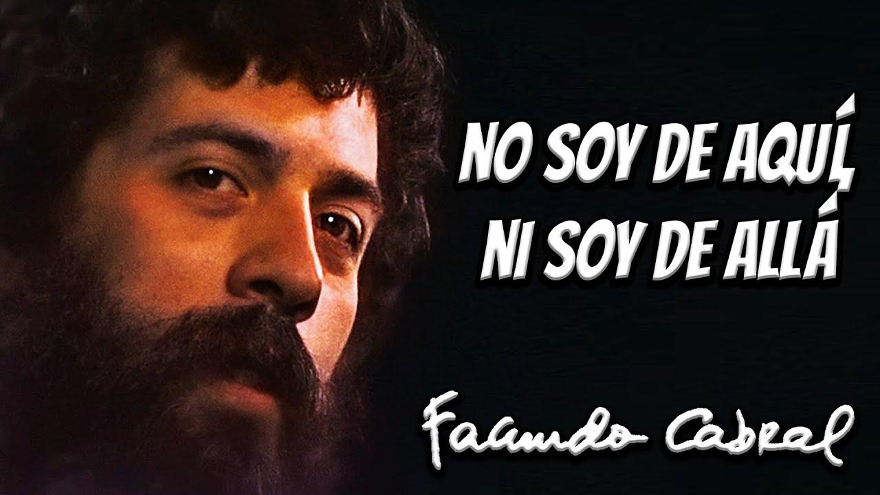 No Soy De Aquí Ni Soy De Allá En Vivo Facundo Cabral Youtube