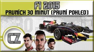 F1 2015 | Český Gameplay | Prvních 30 minut [1080p] [CZ]