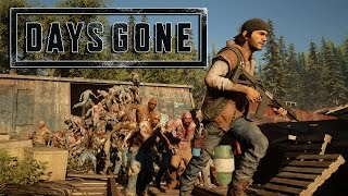 Days Gone - Gameplay E3 2016 - PS4 (Zombie Swarm)
