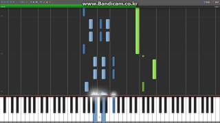 [Synthesia][MIDI] Epitone Project - Spring day, cherry blossoms, and you (봄날, 벚꽃 그리고 너)