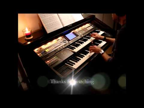 Leroy Anderson's Sleigh Ride - performed by Auronoxe on Technics GA3 organ