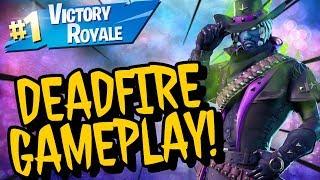 DEADFIRE Skin Gameplay! In Fortnite Battle Royale (Stream Highlights)