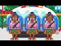 My Town : ICEE Amusement Park - Meet 3 twins sister | Bug games