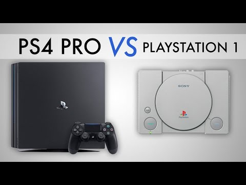 PS4 Pro vs. The Original PlayStation