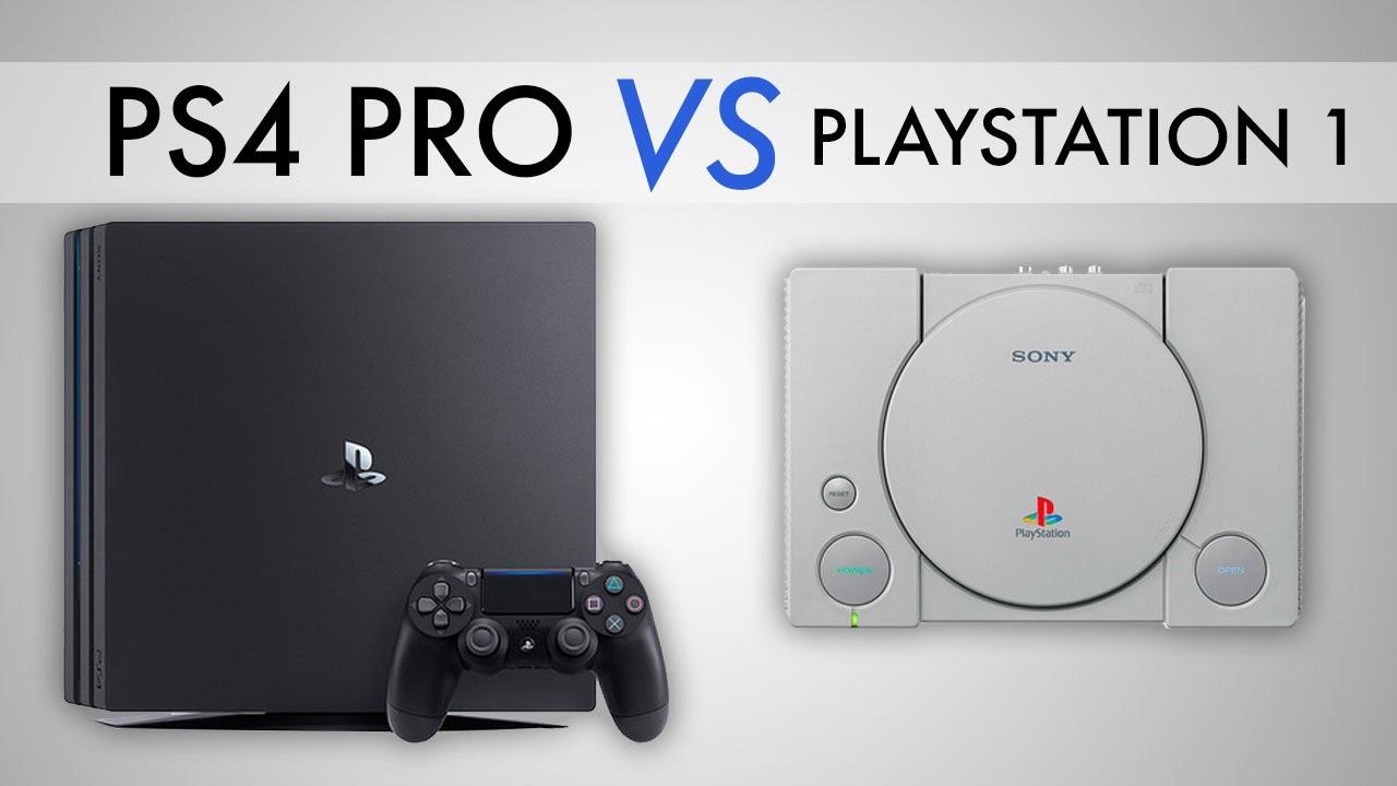 ps4 pro vs the original playstation youtube. Black Bedroom Furniture Sets. Home Design Ideas