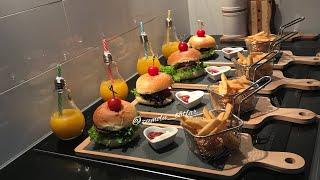Hamburger/nefis hamburger ekmegi ve koftesi