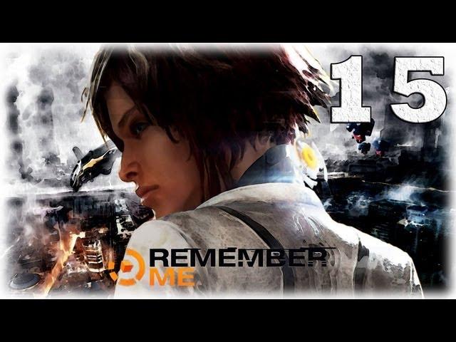 Смотреть прохождение игры Remember me. Серия 15 - Головоломки и тупики.