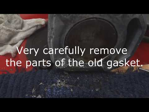 How to change the head gasket on a Briggs and stratton 550ex