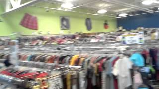 We went shopping to 8 Goodwill stores to sell on eBay and Amazon