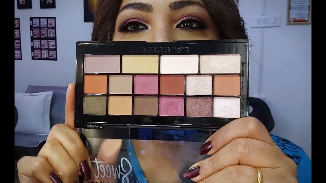 La Colors Sweet 16 Eyeshadow Palettes Only Rs 600 From Flipkart