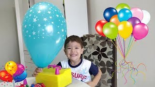 Aprendendo cores com balões | Learn Colors with the Balloons Inflator