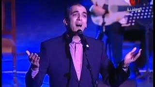 رائعة رباعيات الخيام العندليب رشيد غلام مهرجان مسرح الحمامات بتونس 2015