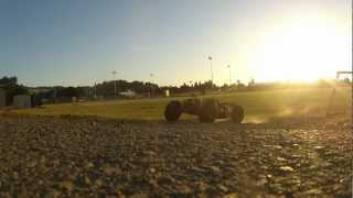 45C Zippy Lipo Test 2 6S Savage Flux 5B Gopro Rebel t3i  Crash 5T 5SC Run #2