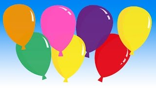 """Pretty Balloons"" (balloon song for learning colors)"