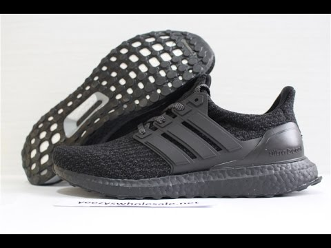 09d290235 ADIDAS ULTRA BOOST TRIPLE BLACK REAL BOOST BA8920 FROM YEEZYSWHOLESALE NET
